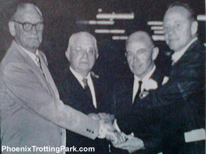 Trotting Park Founders on Opening Night in 1965